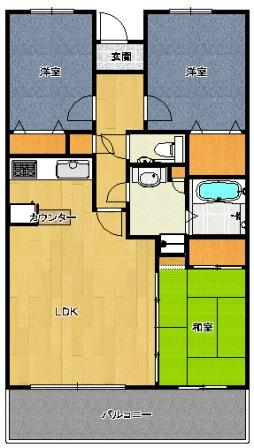ガーデンハイツ本庄 1104号室(ペットOK)