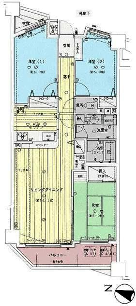 ガーデンハイツ松本 306号室