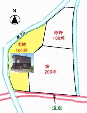 新築住宅 (貸農地付き)
