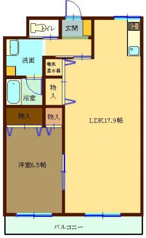 ユーイン井川城 505号室