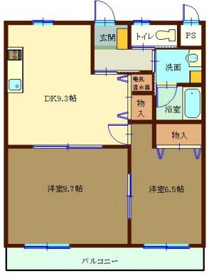 ユーイン井川城 403号室