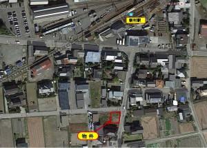 新村 売事務所・店舗  *駐車場  敷地内9台。*新築(間取り変更可)。