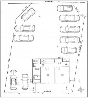 【表面利回り6.92%)豊科高家2526-1 新築住宅(P10台)
